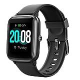Smartwatch, LIFEBEE Fitness Armband Fitness Tracker Voller Touch Screen Smart Watch IP68 Wasserdicht Fitness Uhr mit Pulsuhren Schrittzähler Damen Herren Armbanduhr Sportuhr für iOS Android