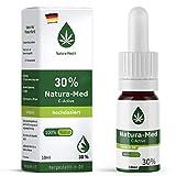 Med-Natura30% C-Active Natur Öl Tropfen 10ml  100% reines Naturprodukt•vegan•EU zertifizierter Anbau•hochdosiert und rein – made in DE - Prozent