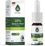 Natura-Med10% C-Active Natur Öl Tropfen 10ml  100% reines Naturprodukt•vegan•EU zertifizierter Anbau•hochdosiert und rein – made in DE - Prozent (10ml)