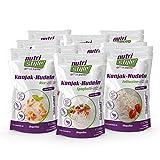 nutristyle Shirataki Konjak Nudeln, Mischkarton, 10 x 270g (10x200g ATG), Pasta-Alternative mit nur 6 kcal, ideal für eine kalorienarme Ernährung geeignet - Angebotspreis!