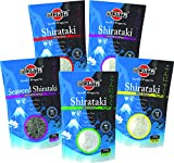 MIYATA Shirataki Mischkarton mit 5 verschiedenen Sorten, Nudeln aus Konjakmehl, Low Carb, 1er Pack (1 x 1350 g)