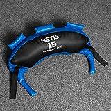 METIS Bulgarian Bag - 5kg bis 20kg | Crossfit Equipment und Krafttraining - Trainingsgerät für Fitnesscenter und Zuhause (10kg)