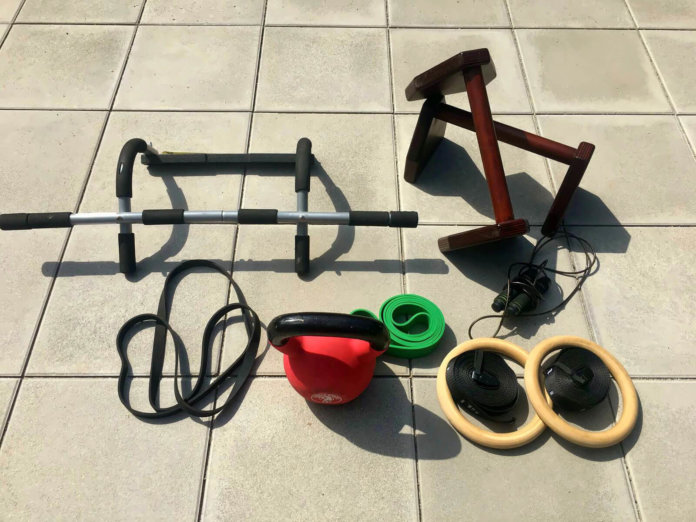 Calisthenics Equipment für Zuhause