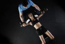 Training Fitness mit Partner
