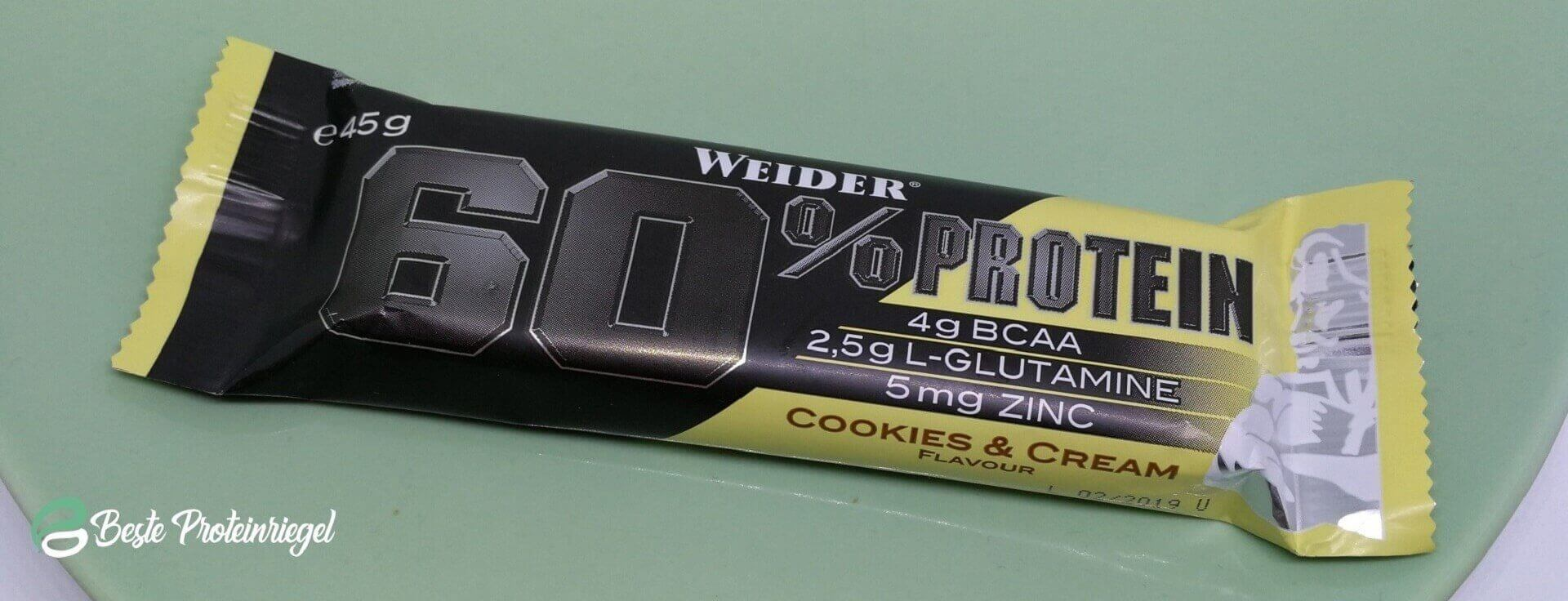 Weider 60% Protein Bar