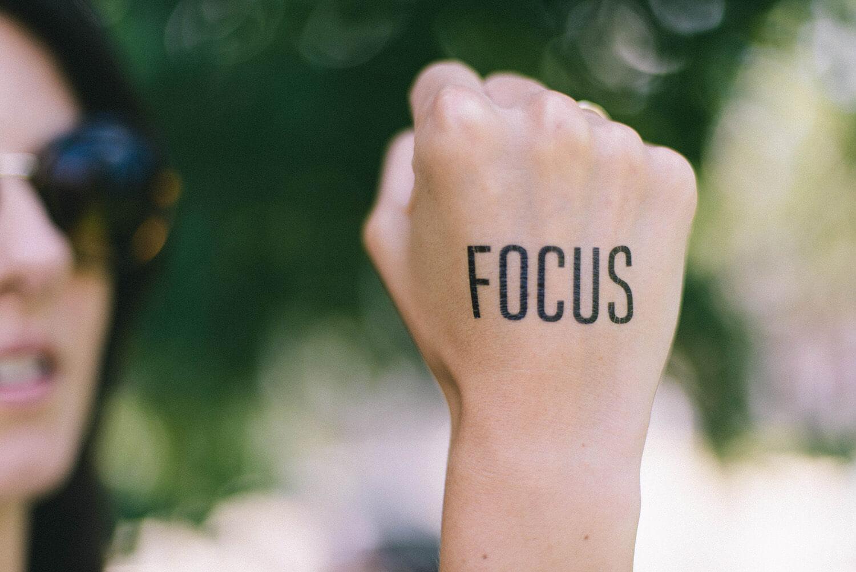Fokussiere dich auf dein Ziel