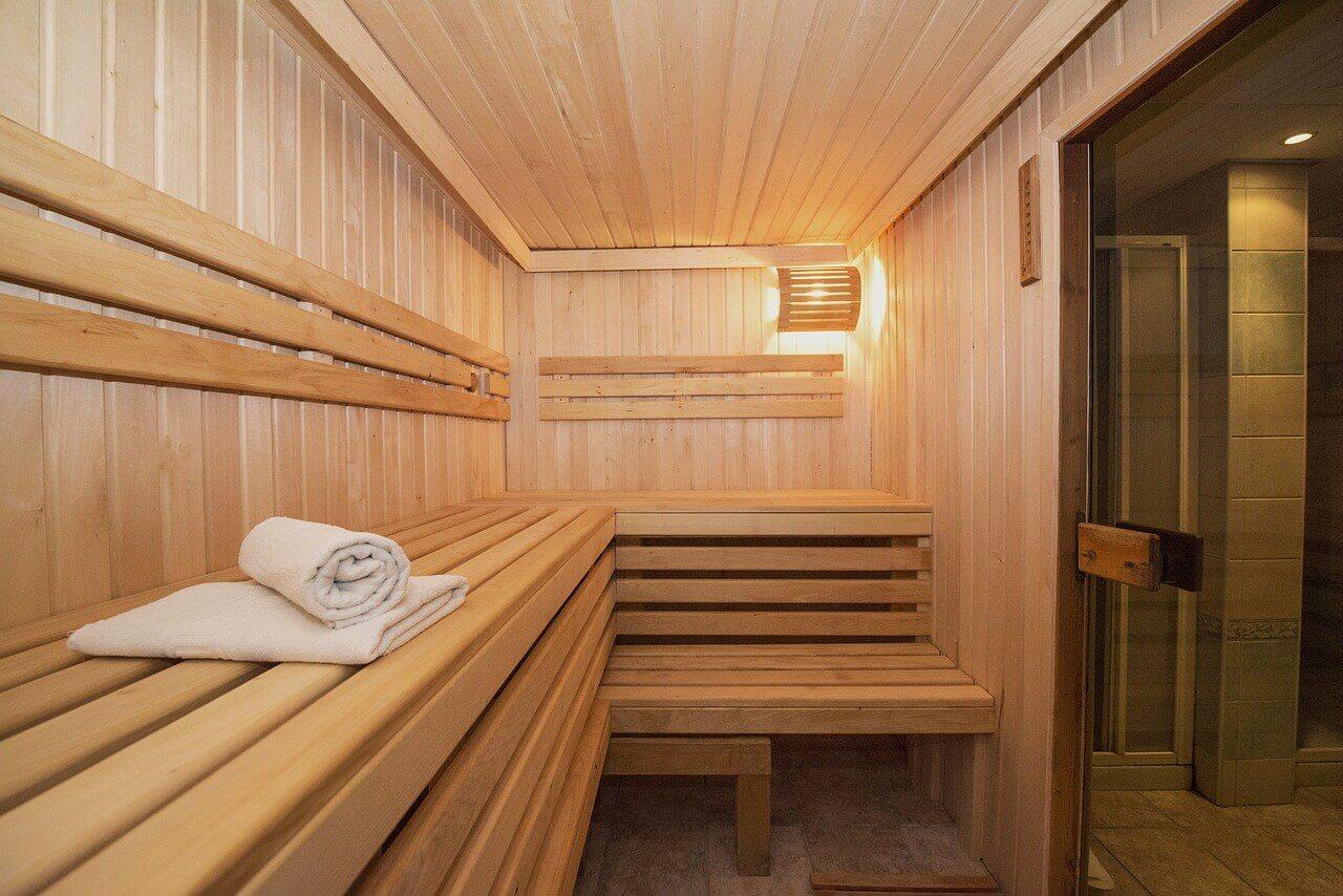 Praktisch: Sauna im Fitnessstudio