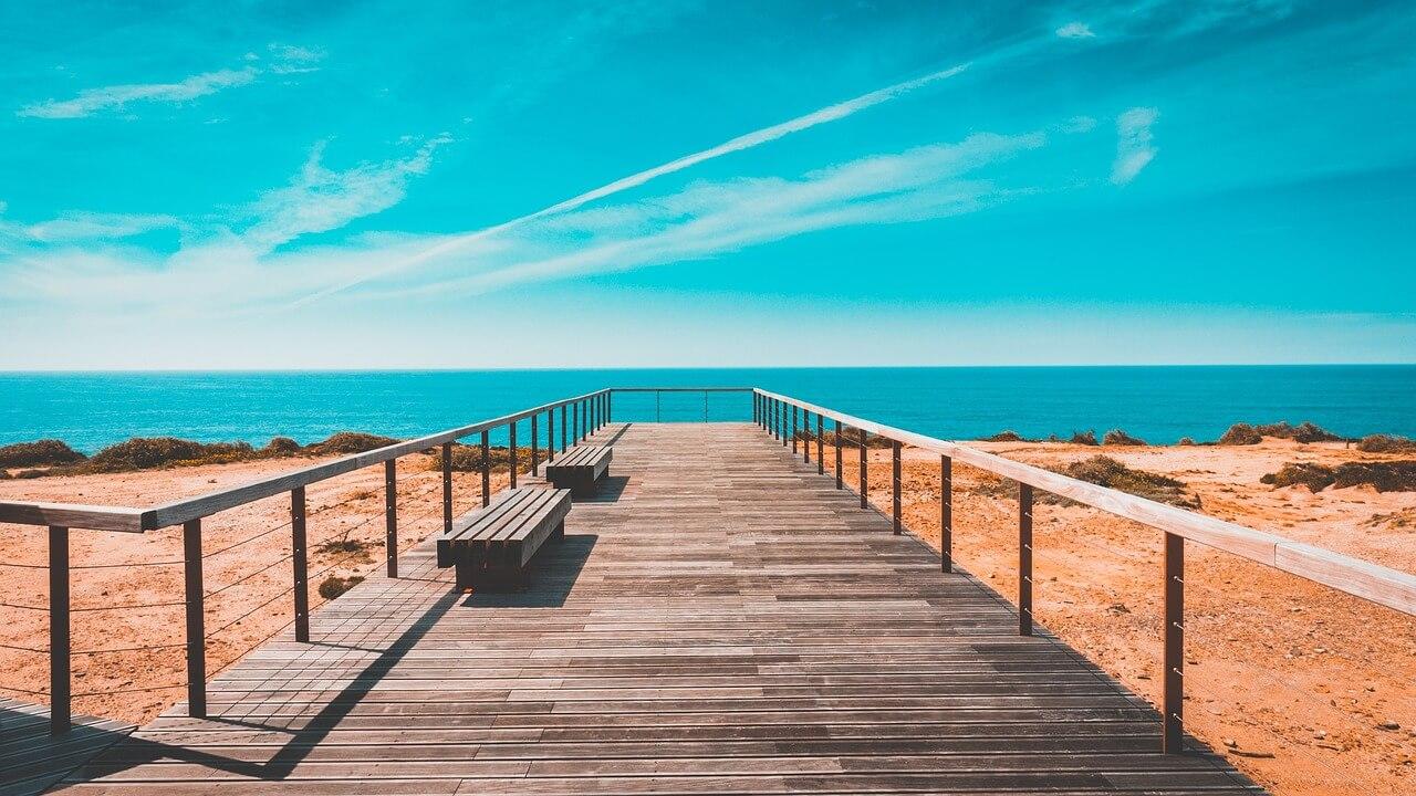Portugal Westenküste am Strand